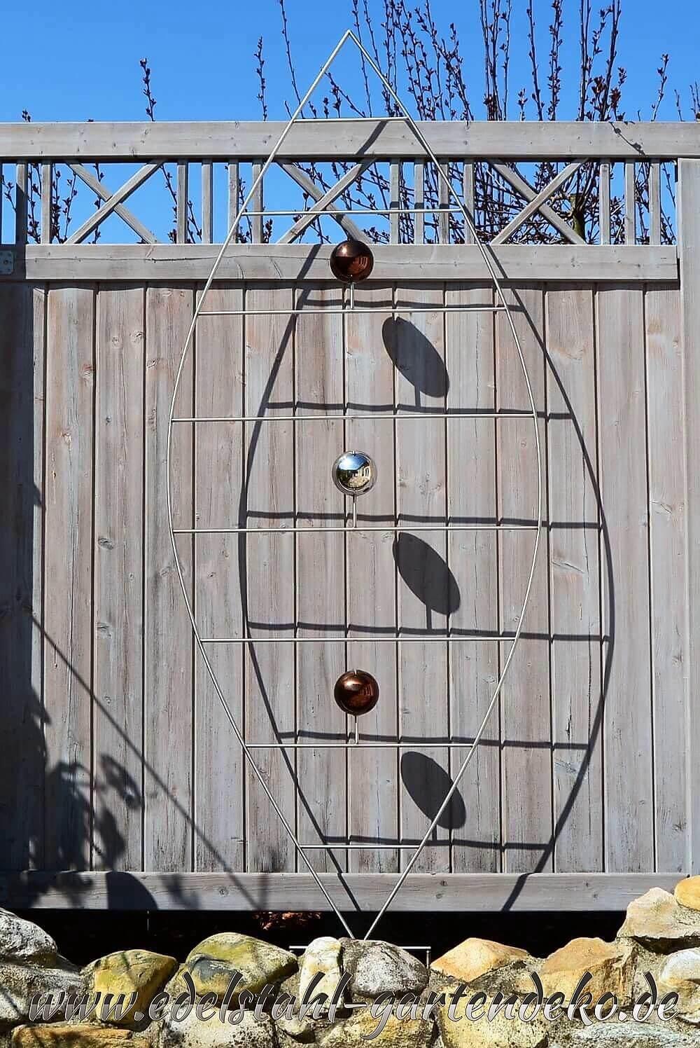 Rankgitter stella aus edelstahl rankhilfe f r garten for Gartendeko aus stahl
