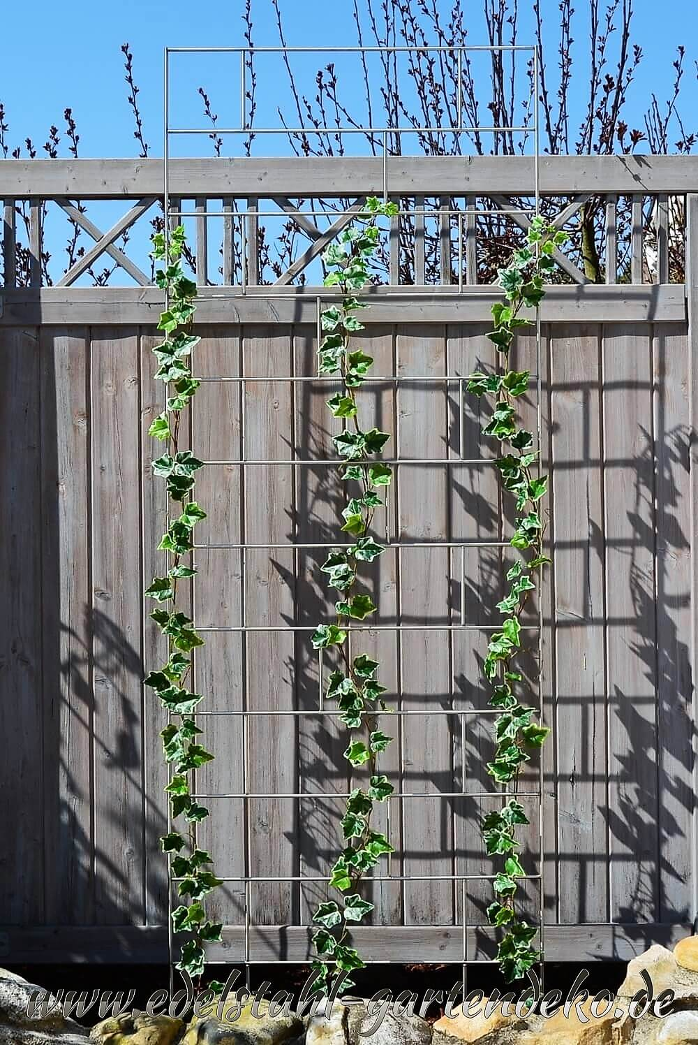 Rankgitter celina aus edelstahl ein wahrhaft stilvoller anblick - Gartendeko stahl ...